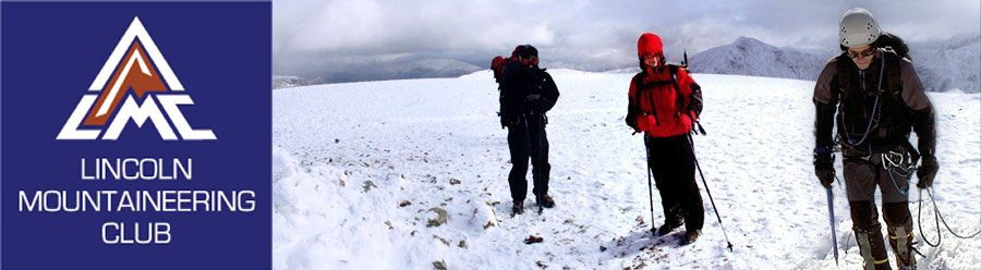 Helvelyn in the snow - Lincoln Mountaineering Club